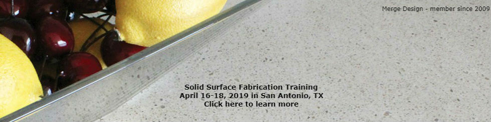 Solid Surface Fabrication Training